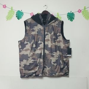 Lucky & Blessed Camo Quilted Vest